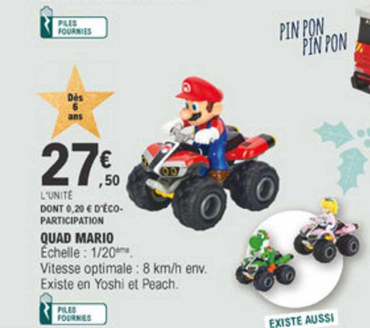 E Leclerc Quad Mario