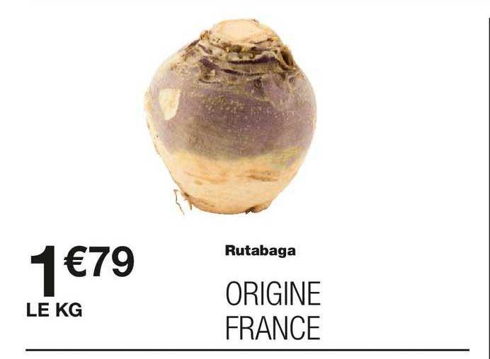 Monoprix Rutabaga