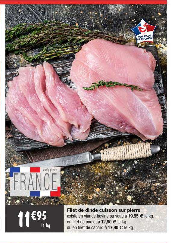 Migros France Filet De Dinde Cuisson Sur Pierre