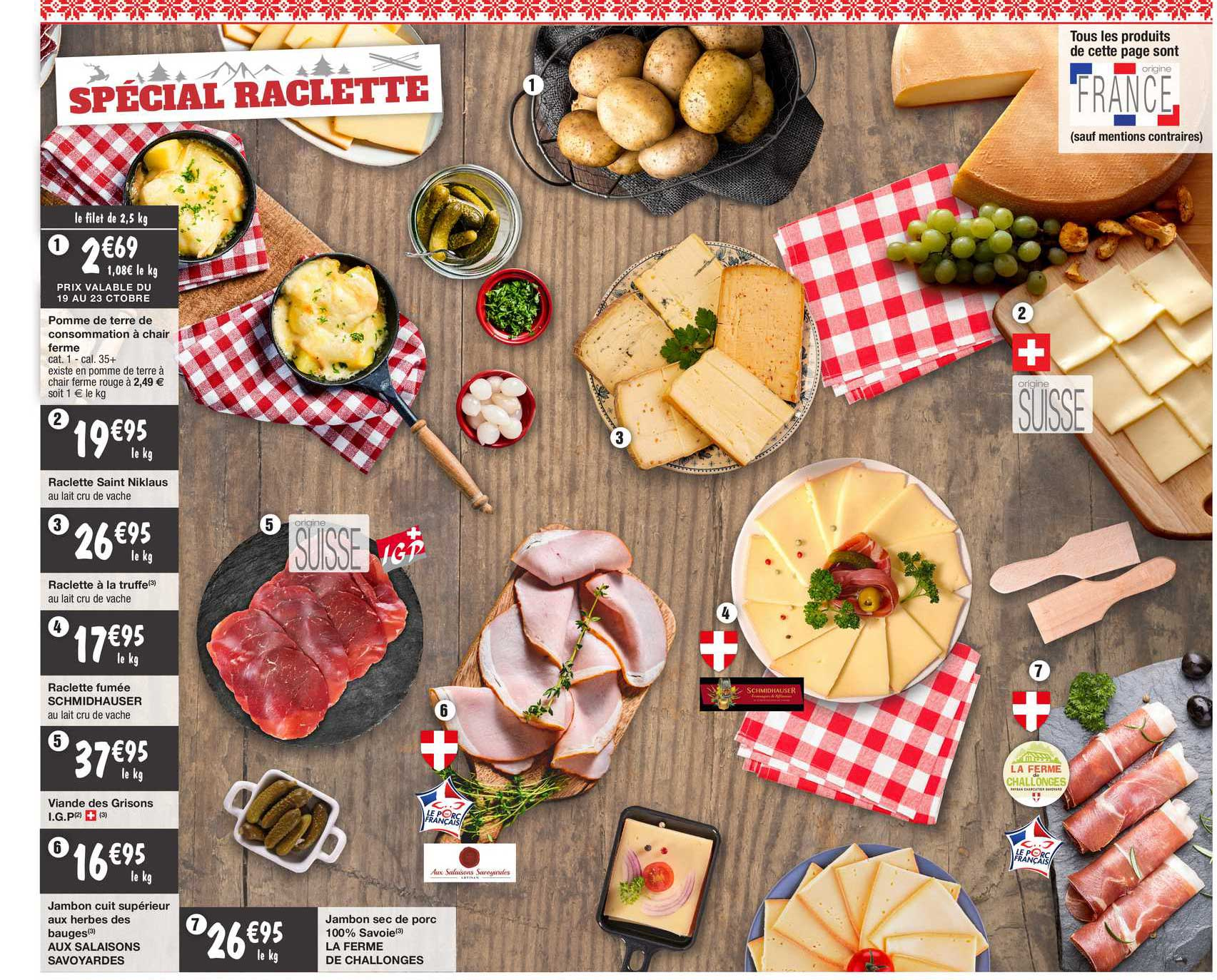 Migros France Spécial Raclette