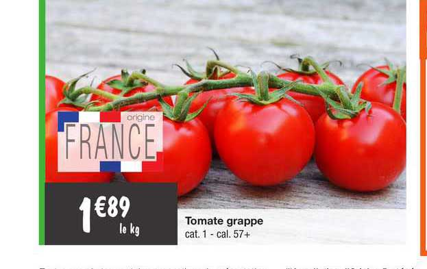 Migros France Tomate Grappe