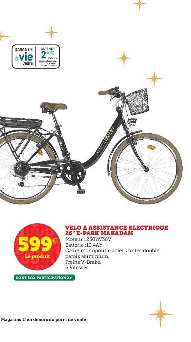 Hyper U Vélo à Assistance électrique 26