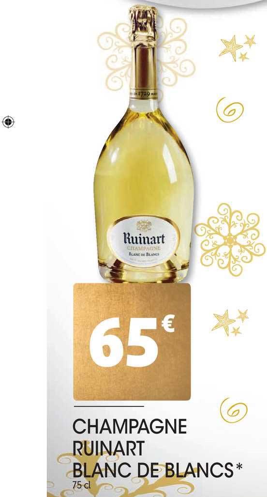 Auchan Direct Champagne Ruinart Blanc De Blancs