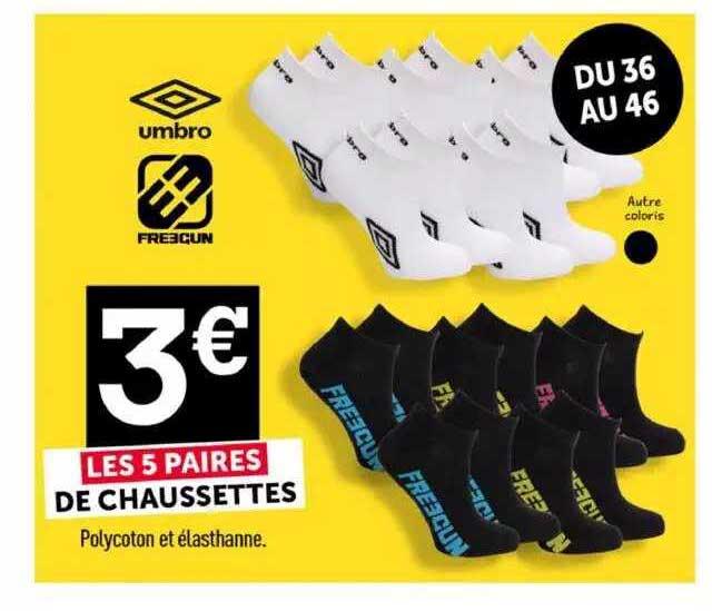Centrakor 5 Paires De Chaussettes