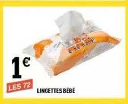 Centrakor Lingettes Bébé