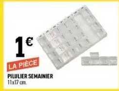Centrakor Pilulier Semainier