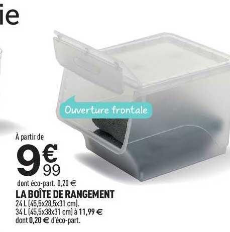 Offre La Boite De Rangement Chez Centrakor
