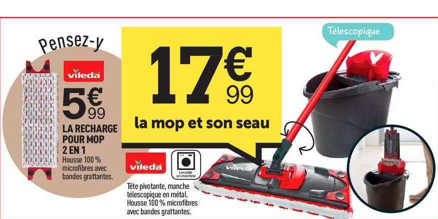 Centrakor Le Mop Et Son Seau Vileda