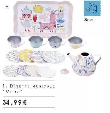 Monoprix Dinette Musicale