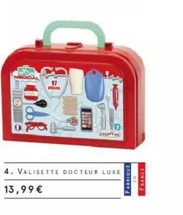 Monoprix Valisette Docteur Luxe