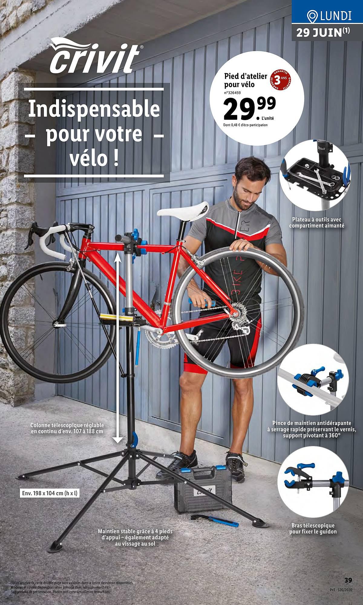 Lidl Pied D'atelier Pour Vélo