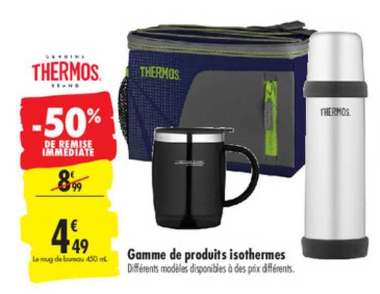 Remarquable Offre Gamme De Produits Isothermes Thermos chez Carrefour LT-13