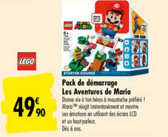 Carrefour Pack De Démarrage Les Aventures De Mario Lego
