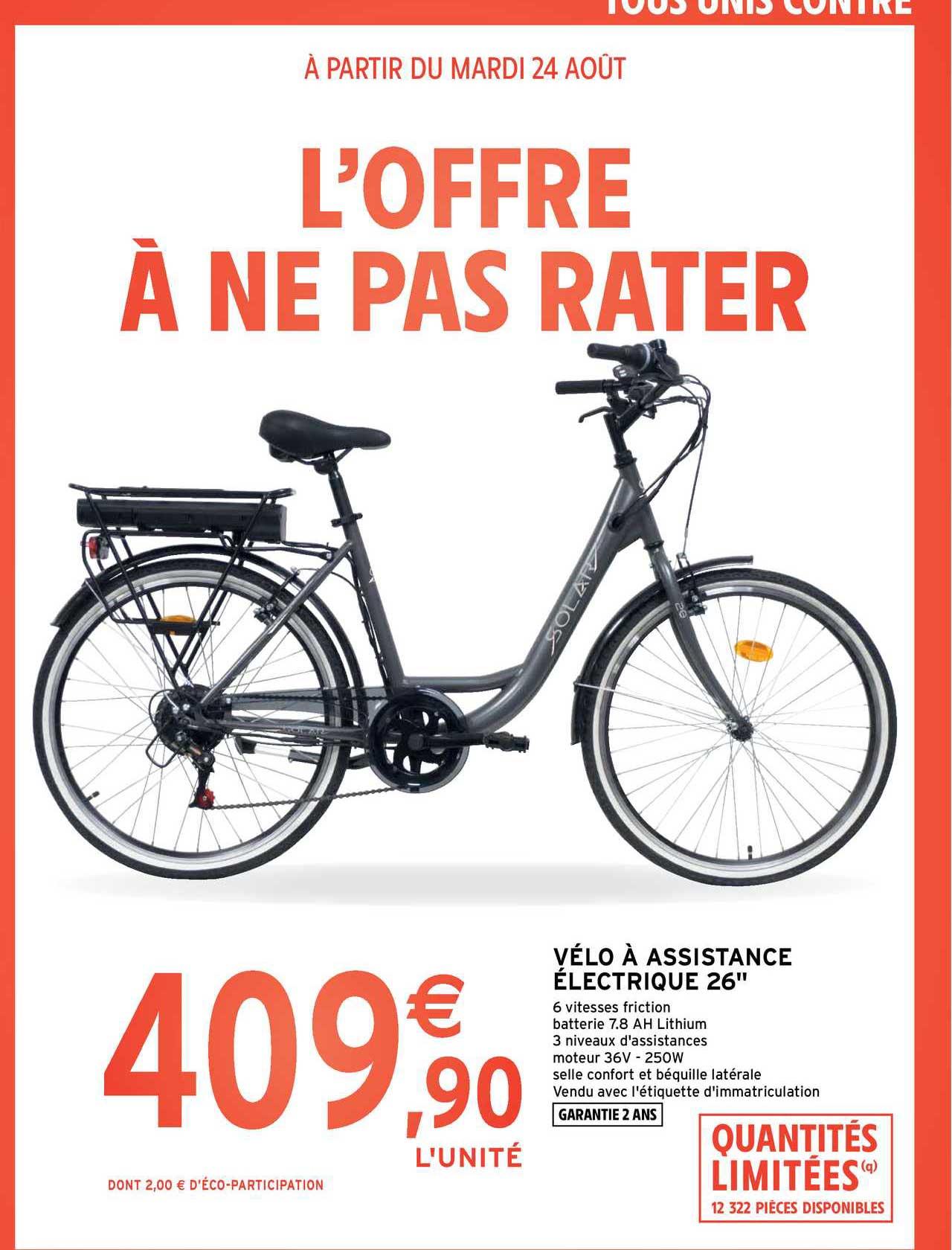 Intermarché Contact Vélo à Assistance électrique 26