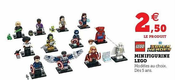 Super U Minifigurine Lego