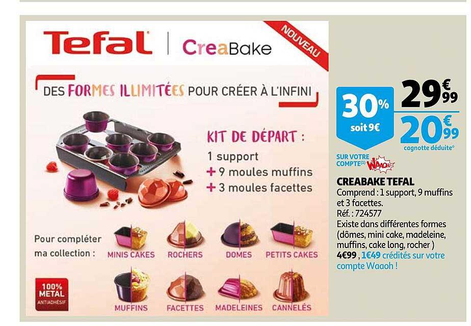 Auchan Creabake Tefal