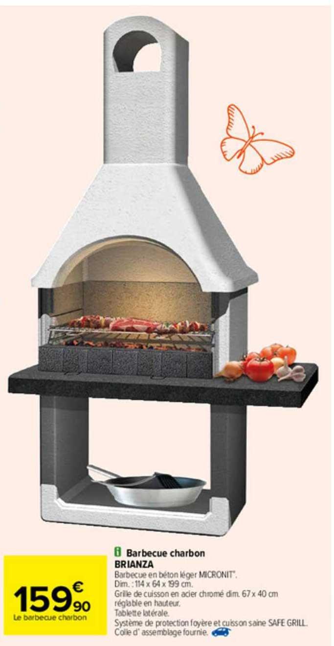 Carrefour Barbecue Charbon Brianza