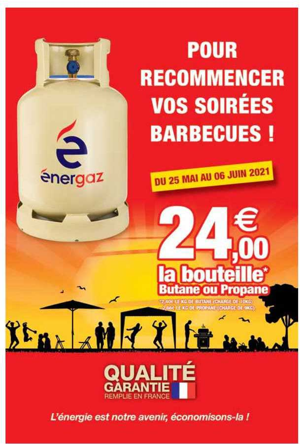 Intermarché Contact La Bouteille Butane Ou Propane Energaz
