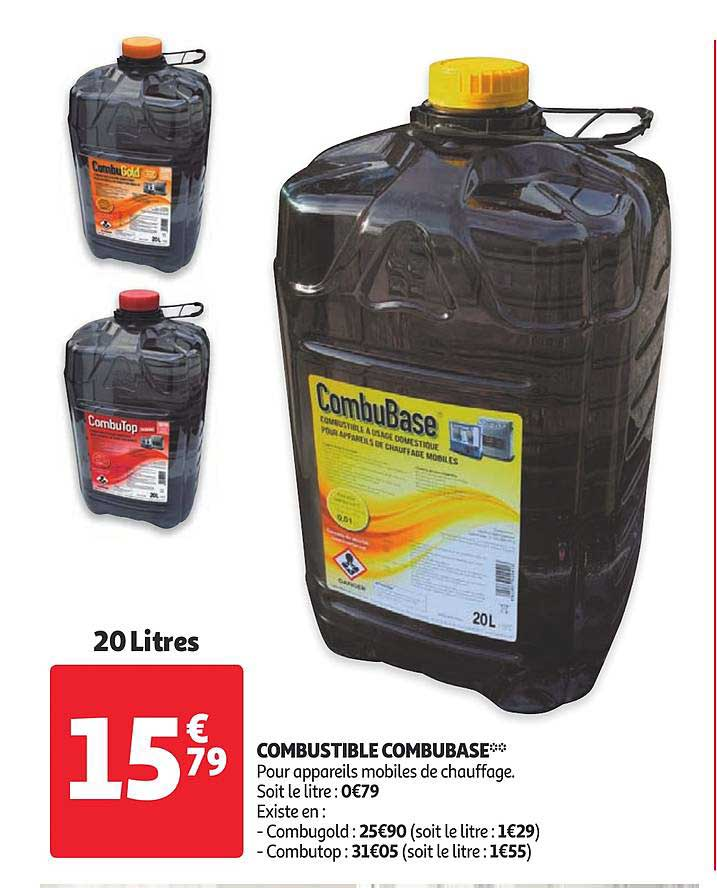 Auchan Combustible Combubase
