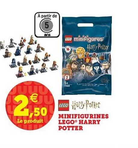 Super U Minifigurines Lego Harry Potter