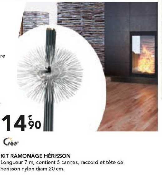 Les Briconautes Crea Kit Ramonage Hérisson
