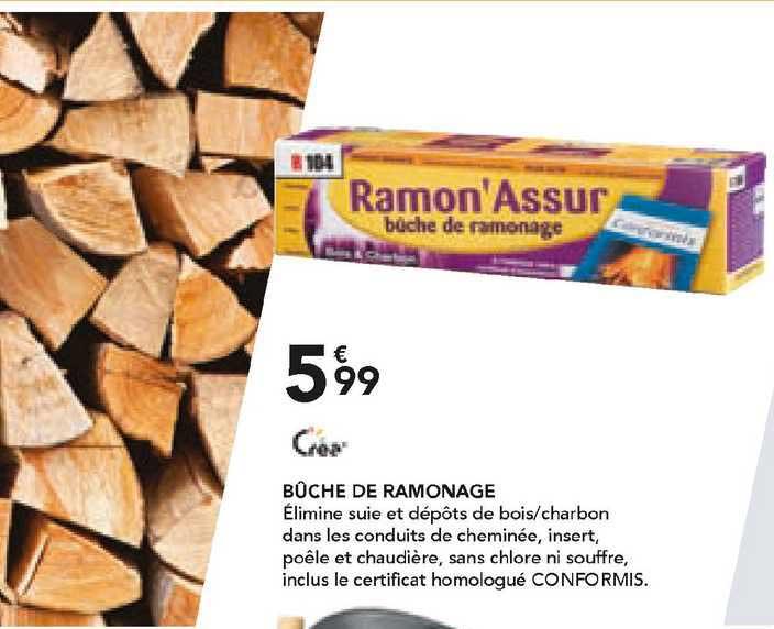 Les Briconautes Crea Bûche De Ramonage