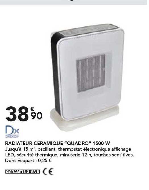 Les Briconautes Dx Radiateur Céramique
