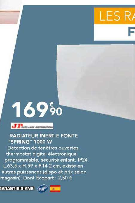 Les Briconautes Jp Radiateur Inerte Fonte