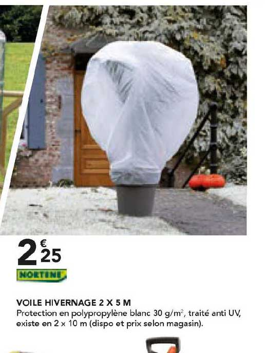 Les Briconautes Nortene Voile Hivernage 2 X 5 M