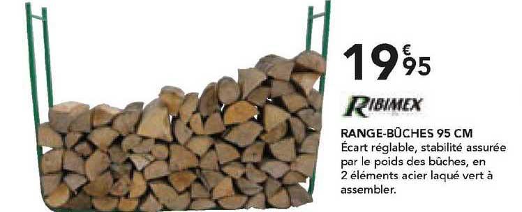 Les Briconautes Range-bûches 95 Cm Ribimex