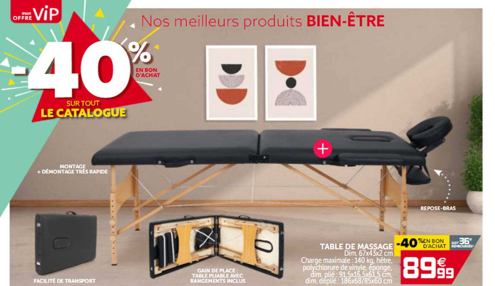 GiFi Table De Massage