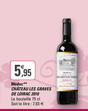 G20 Médoc Château Les Graves De Loirac 2018