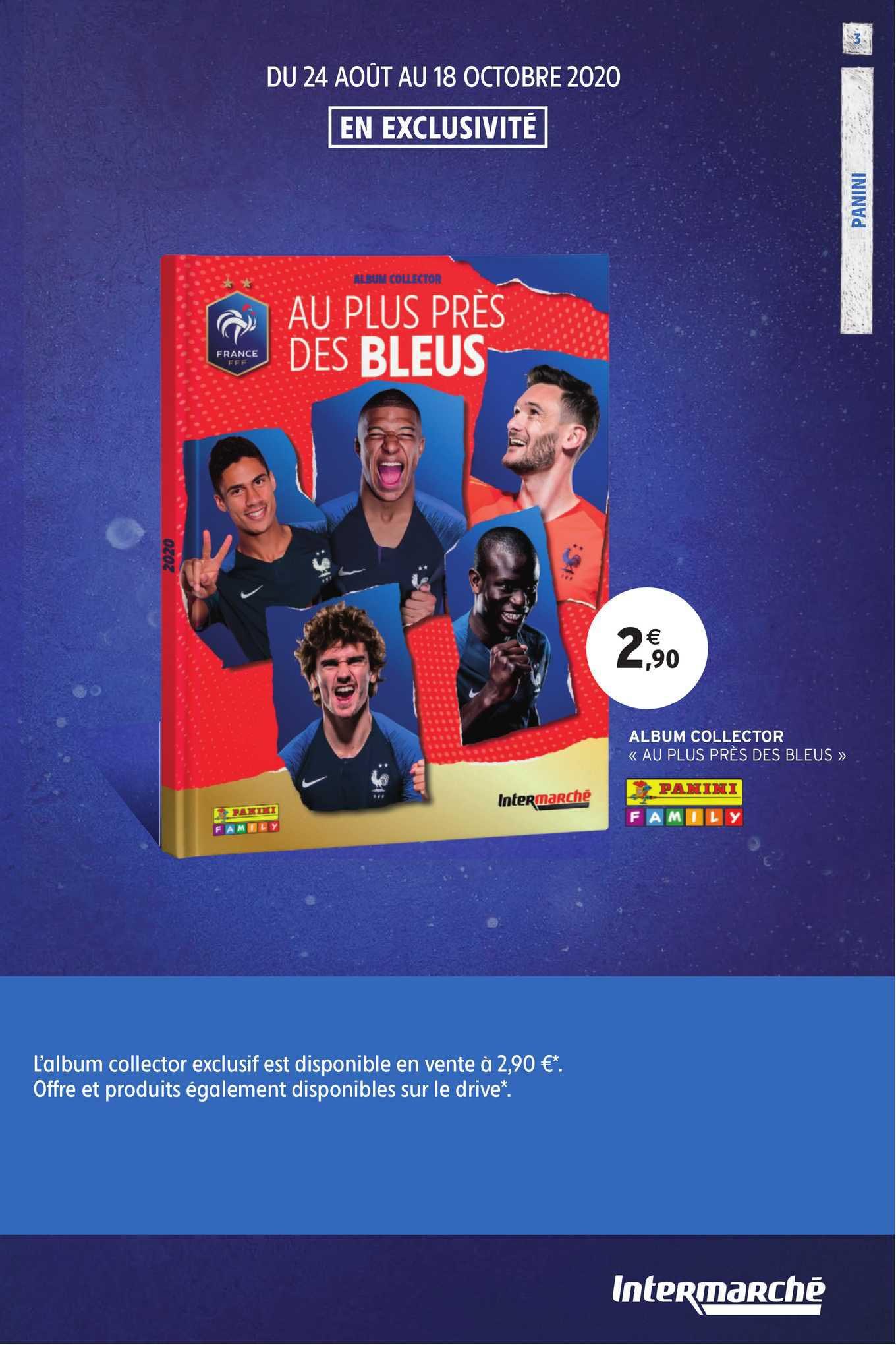 Intermarché Hyper Album Collection Au Plus Près Des Bleus