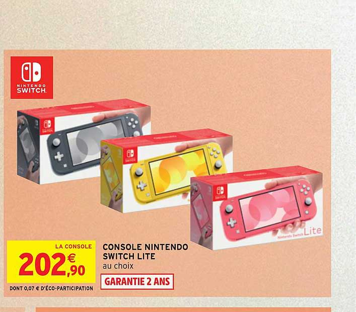 Intermarché Console Nintendo Switch Lite