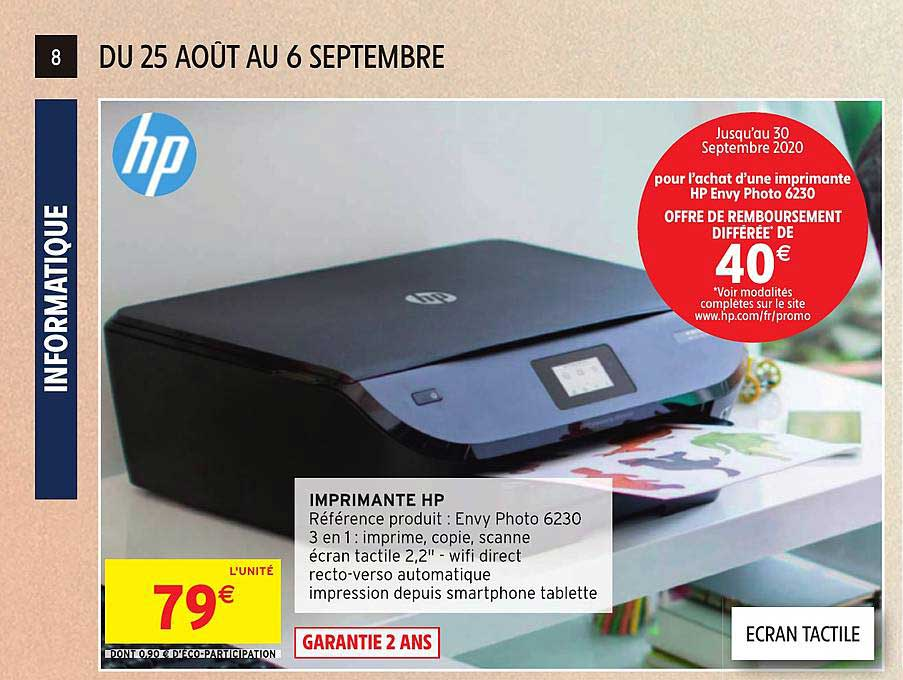 Intermarché Imprimante Hp