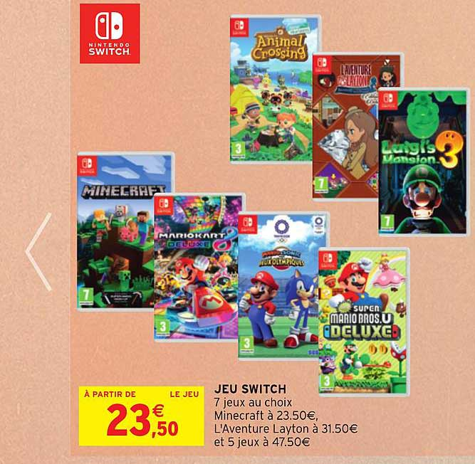 Intermarché Jeu Switch