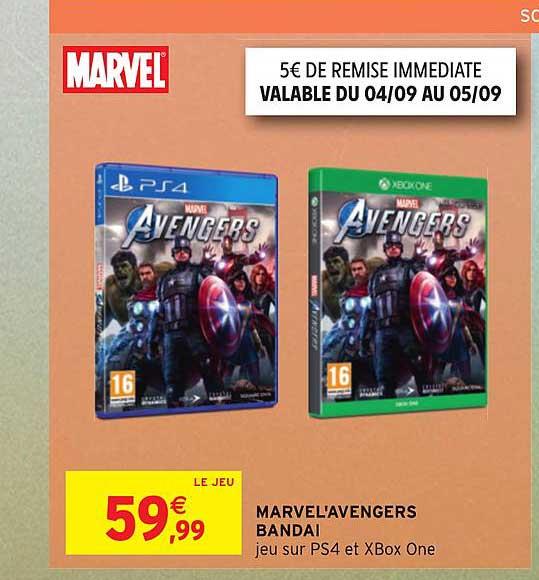 Intermarché Marvel'avengers Bandai