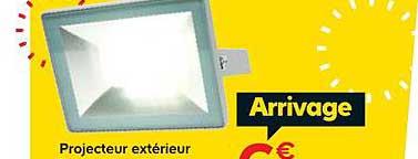 Offre Projecteur Exterieur Chez Castorama