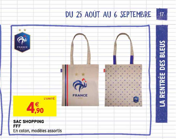 Intermarché Contact Sac Shopping Fff