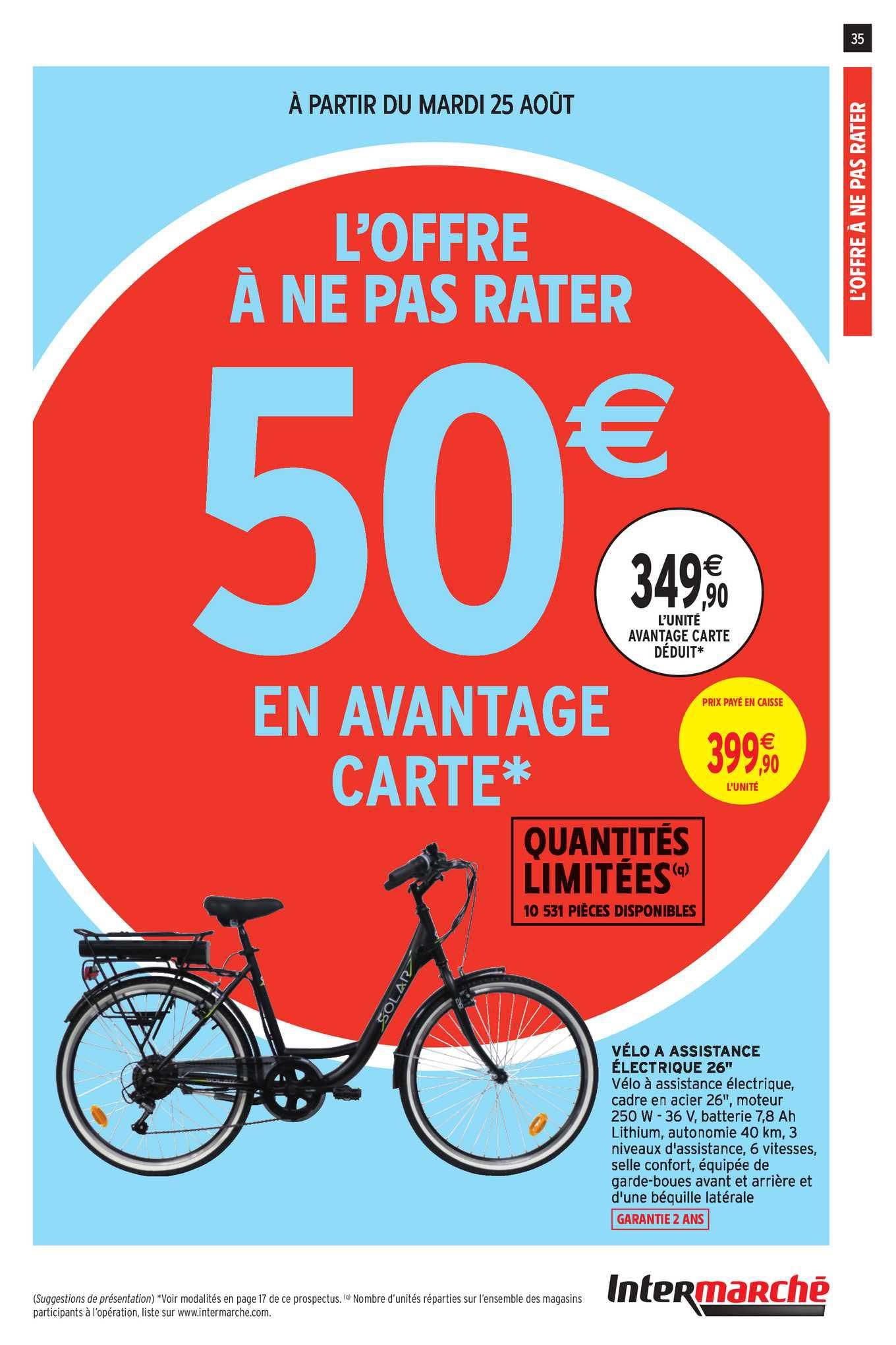 Intermarché Contact Vélo à Assistance électrique 26''