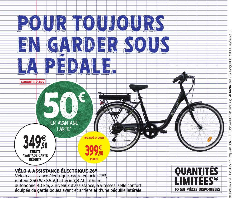 Intermarché Hyper Vélo à Assistance électrique 26
