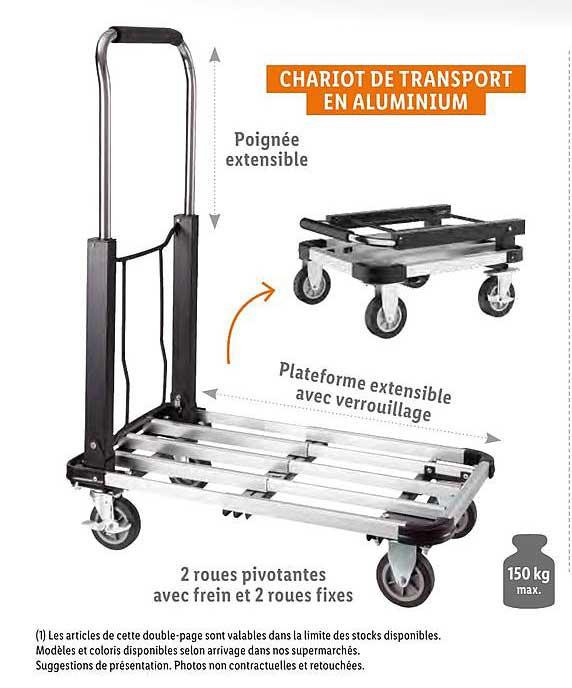 Offre Chariot De Transport En Aluminium Chez Lidl