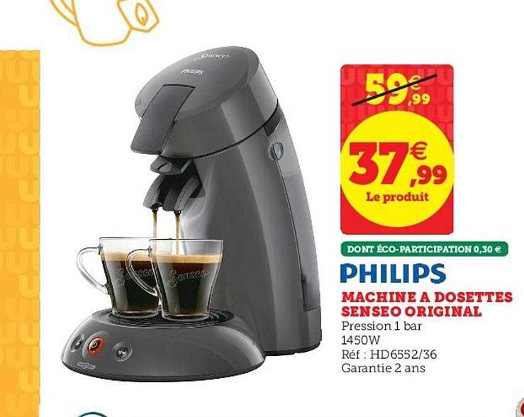 Super U Philips Machine A Dosettes Senseo Original