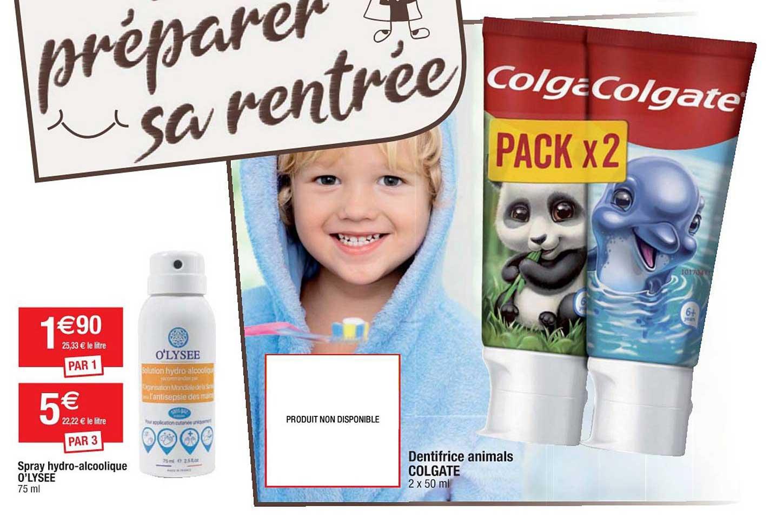 Cora Spray Hydro Alcoolique O'lysee