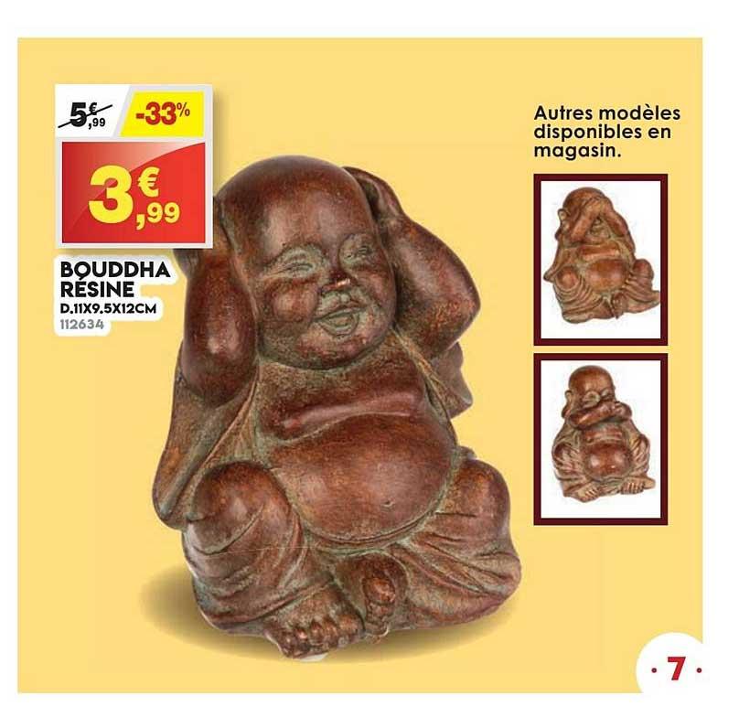Maxi Bazar Bouddha Résine