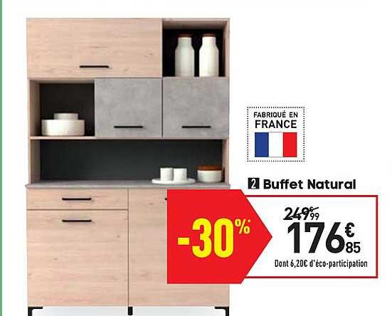 Offre Buffet Natural Chez Conforama