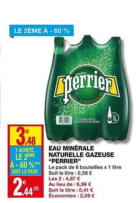 Coccinelle Express Eau Minérale Naturelle Gazeuse Perrier Le 2ème à -60%