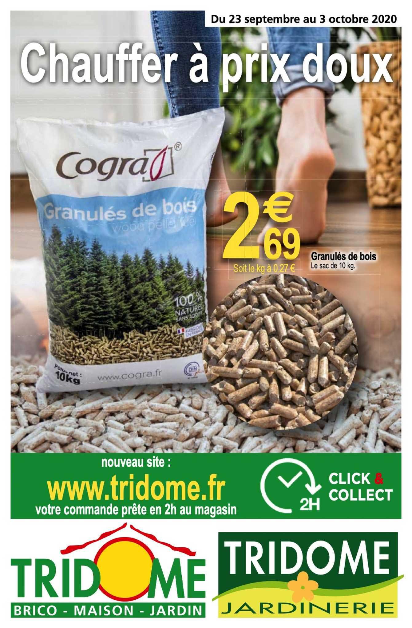 Tridôme Granulés De Bois