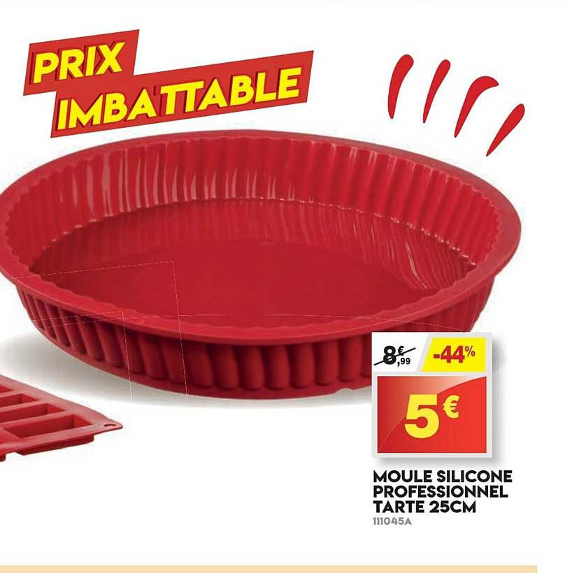Maxi Bazar Moule Silicone Professionnel Tarte 25cm