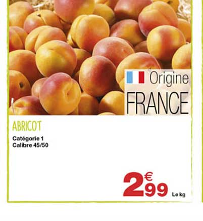 Grand Frais Abricot